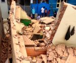 : Bengaluru: A three-storeyed building collapsed in Lakkasandra near the busy Wilson Garden area in Bengaluru, Karnataka, on Monday Luckily, most of the 50 people who lived in the building had gone out to work, the police said, and there were no casualties