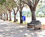 Valentine's Day - deserted park