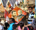 Independence Day eve - People buy kites