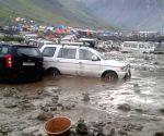 Cloudburst Near Amarnath Base Camp