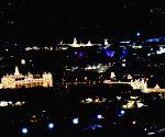 Mysuru city illuminated during Dasara celebrations 2020