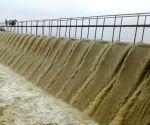 Overflowing Himayat Sagar Dam