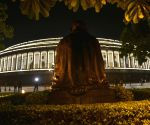 Parliament House illuminated ahead of roll out of GST