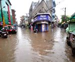 Rains leave the city water-logged
