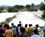 Flood hits NH 766