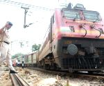 Truck hits Delhi-bound Rajdhani Express, 2 coaches derail