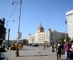 File Photos: Taj Mahal Palace Hotel and Gateway of India