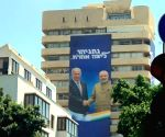 Free Photo: Modi features in Likud campaign posters with Netanyahu