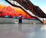 Nizamuddin station gets graffiti makeover, 11 cities next