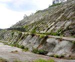 Cracks develop in Varunawat mountains