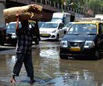 Water logged Elphinstone Road