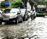 Water logged roads of Delhi