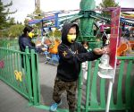 CANADA VANCOUVER COVID 19 PLAYLAND AMUSEMENT PARK REOPENING