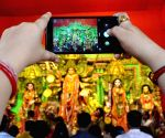 Durga Puja celebrations - Salt Lake - BJ Block