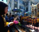THAILAND BANGKOK EXPLOSION PRAY