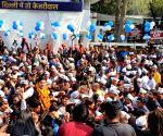 AAP's Raghav Chadha receives warm welcome at party headquarters