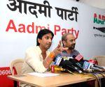 Kumar Vishwas's press conference