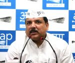 Act against BJP MP who called Kejriwal 'terrorist', AAP to EC