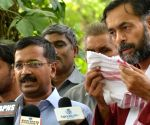 AAP leaders talk about on General Budget 2014-15