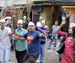 AAP supporters celebrate party's stunning performance in Delhi Assembly Polls
