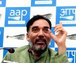 Babarpur MLA Gopal Rai appeals for peace; speaks to LG