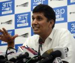 Saurabh Bhardwaj's press conference