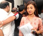 Alka Lamba at DCW office
