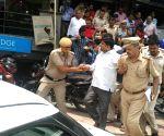 AAP MLA Dinesh Mohaniya detained