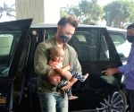 Aayush Sharma & His Family Spotted at Airport Departure