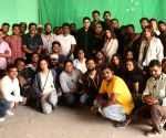 "Free Photo: Abhishek Bachchan thanks the cast and crew of Amazon Prime Video's ""Breathe into the shadows"