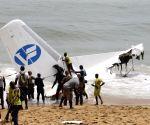 COTE D'IVOIRE-ABIDJAN-PLANE CRASH