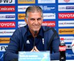 UAE ABU DHABI SOCCER AFC ASIAN CUP QUARTERFINAL IRAN PRE MATCH PRESS CONFERENCE