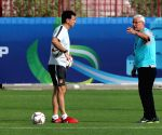 UAE ABU DHABI FOOTBALL AFC ASIAN CUP CHINA TRANING