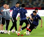 UAE ABU DHABI SOCCER ASIAN CUP UAE NATIONAL TEAM TRANING