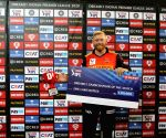 File Photo: Jonny Bairstow of Sunrisers Hyderabad receives the Dream 11 Gamechanger of the match during the presentation of the match 11 of season 13 of the Dream 11 Indian Premier League