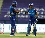 File Photo: Kieron Pollard of Mumbai Indians and Hardik Pandya of Mumbai Indians during match 13 of season 13 of the Indian Premier League