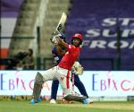 File Photo: Nicholas Pooran of Kings XI Punjab plays a shot during match 13 of season 13 of the Indian Premier League
