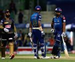 File Photo: Rohit Sharma captain of Mumbai Indians speaks to team members during match 5 of season 13 of the Dream 11 Indian Premier League