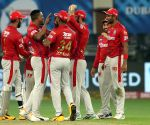 File Photo: Sheldon Cottrell of Kings XI Punjab and The Kings XI Punjab celebrate the wicket of Axar Patel of Delhi Capitals