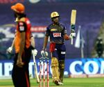 File Photo: Shubman Gill of Kolkata Knight Riders raises his bat after scoring a fifty during match 8 of season 13 of the Dream 11 Indian Premier League
