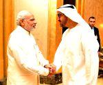 Abu Dhabi (UAE): Modi's one to one meeting with Sheikh Mohammed bin Zayed Al Nahyan