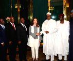 NIGERIA ABUJA UNGA PRESIDENT VISIT