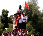 DUSU election - ABVP celebrations