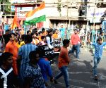 ABVP's protest rally