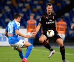 ITALY-NAPLES-FOOTBALL-SERIE A-NAPOLI VS AC MILAN