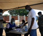 ) Ghana opens special voting for general election