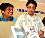 """Kiran Bedi at the launch of the book """"Uprising 2011"""""""