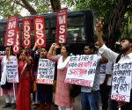 Demonstration against Mandsaur rape