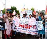 AISF, AIPWA's demonstration
