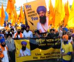 Protest in Amritsar ahead of Operation Blue Star anniversary
